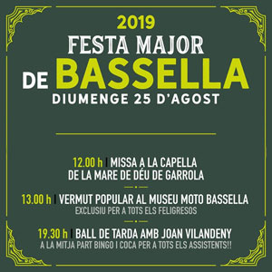 Festa Major de Bassella, 2019