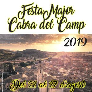 Festa Major de Cabra del Camp, 2019