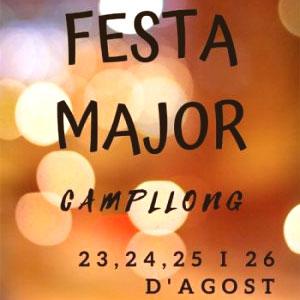 Festes Majors de Campllong, 2019