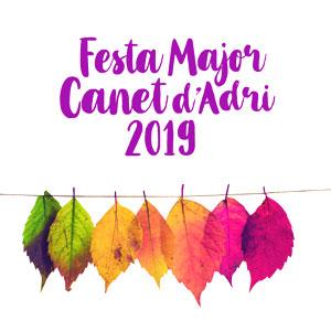 Festa Major de setembre de Canet d'Adri, 2019