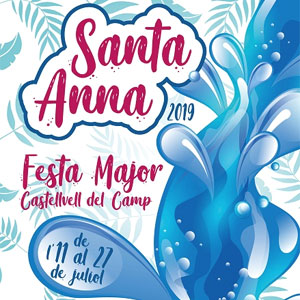 Festa Major de Castellvell del Camp, 2019