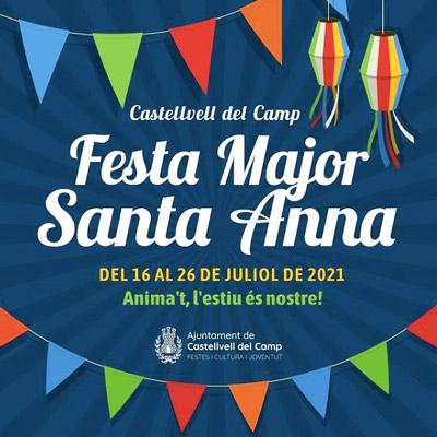 Festa Major de Castellvell del Camp, 2021