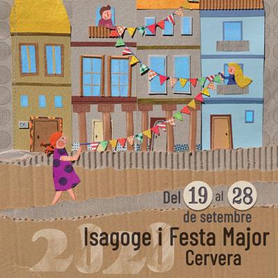 Setmana cultural Isagoge i Festa Major de Cervera, 2020