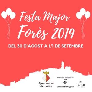 Festa Major de Forès, 2019