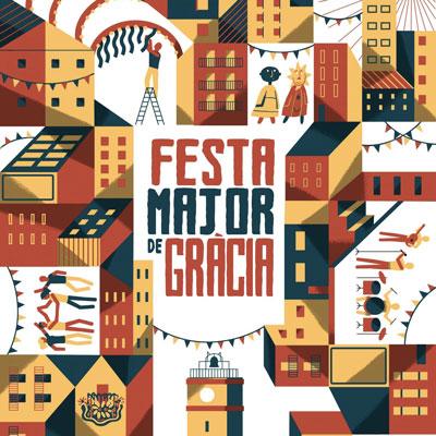 Festes de Gràcia, Festa Major de Gràcia, Gràcia, Barcelona, 2020