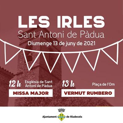 Festa Major de Les Irles, Riudecols, 2021