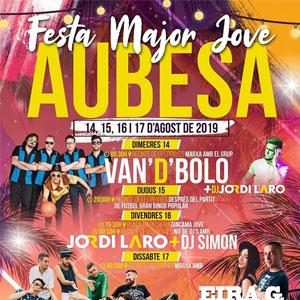 Festa Jove d'Aubesa, 2019