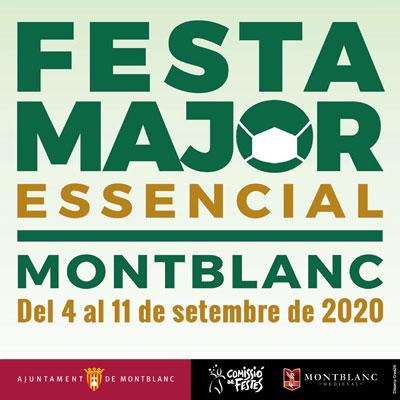 Festa Major, Montblanc, 2020