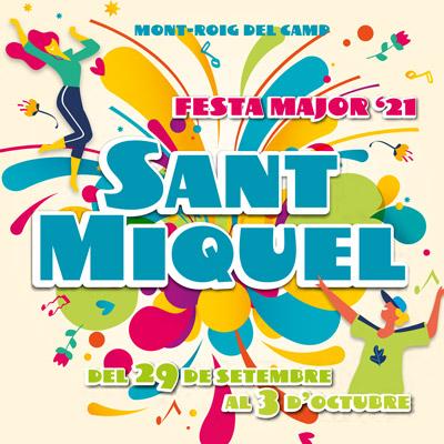 Festa major de Sant Miquel a Mont-roig del Camp, 2021