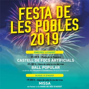 Festa Major de Les Pobles, Mont-Roig del Camp, 2019