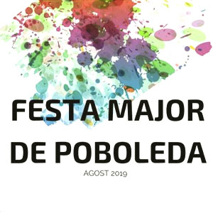 Festa major de Poboleda, 2019