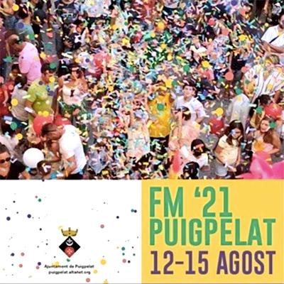 Festa Major de Puigpelat, 2021