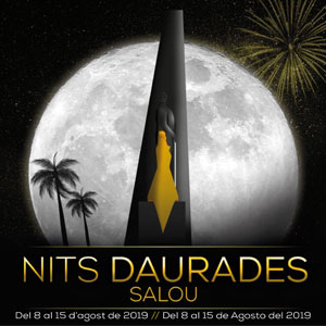 Nits Daurades, Festa Major de Salou, 2019