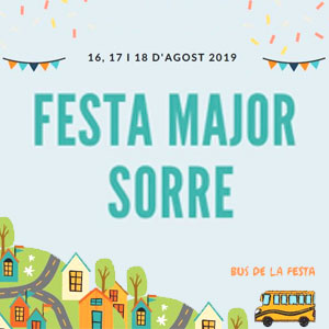 Festa major de Sorre, Sort, 2019