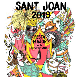 Sant Joan vallenc, Festa major de Valls, 2019