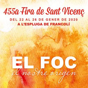455a edició de la Fira de Sant Vicenç de l'Espluga de Francolí, 2020