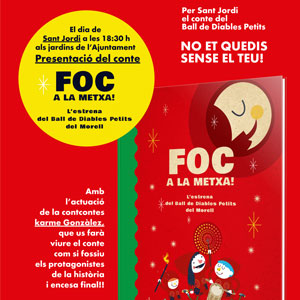 Presentació del conte 'Foc a la metxa!' de Ramon Gasull il·lustrat perDebonatinta