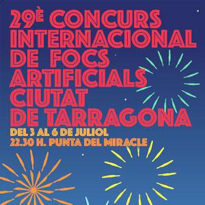 29è Concurs Internacional de Focs Artificials Ciutat de Tarragona, 2019