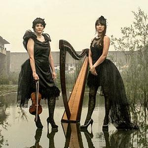 Formiga i Cigale, duet format per Anna Amigó i Eva Genniaux