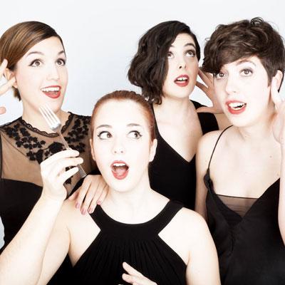 Les Fourchettes, Quartet, Dones, A Capella