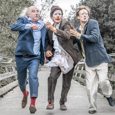 Espectacle'MDR (Mort de riure)' de Los Galindos