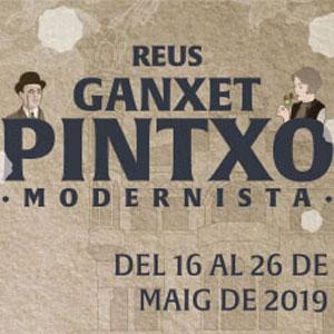 Ganxet Pintxo Modernista, Reus, 2019