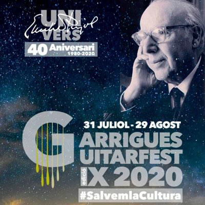 Garrigues Guitarfest, 9a edició, Música, Festival, Garrigues, 2020