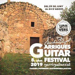 8è Garrigues Guitar Festival, 2019