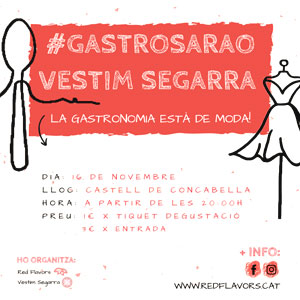 Gastrosarao Vestim la Segarra, Castell de Concabella, 2019