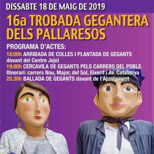16a Trobada Gegantera als Pallaresos, 2019
