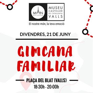 Gimcana familiar del Museu Casteller de Valls, 2019