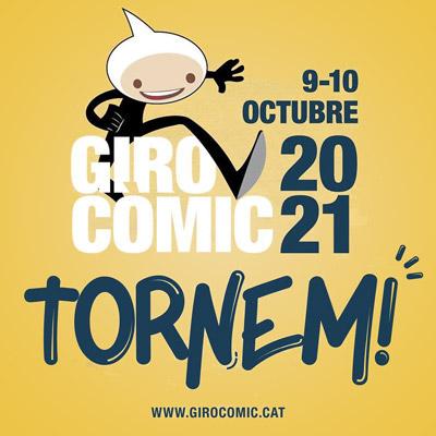 Girocòmic, fira del còmic, el manga i l'entreteniment de Girona, 2021