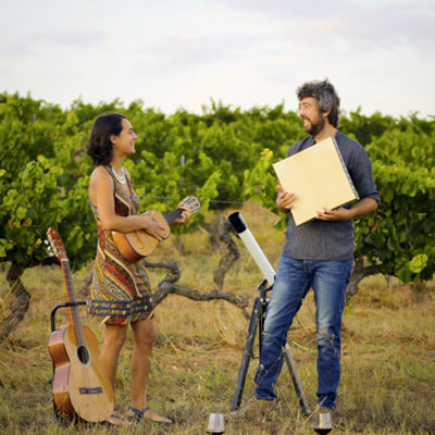Espectacle 'Vi glosa i estrelles' amb Alexandre Bonanit i Gemma Balagué 'Fardatxa', 2020