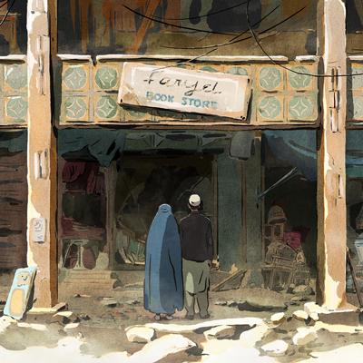Pel·lícula d'animació 'Las golondrinas de Kabul'