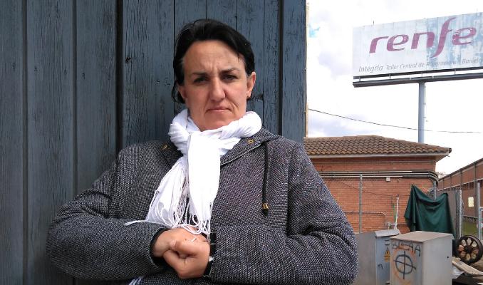 Montse Panero, caseta de guardessa ferroviària (Vilanova i la Geltrú)