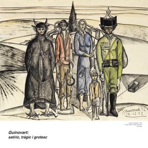Exposició 'Guinovart: satíric, tràgic i grotesc'