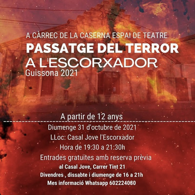 Passatge del Terror a Guissona, 2021