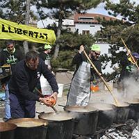 Una imatge de la Festa de la Guixa a Isona