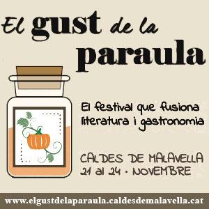 Festival 'El Gust de la Paraula' a Caldes de Malavella, 2019