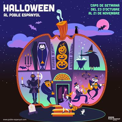 Halloween al Poble Espanyol - Barcelona 2021