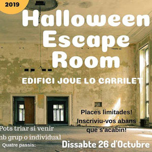 Halloween Escape Room - Tortosa 2019