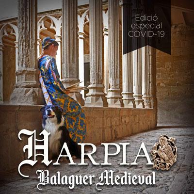 Fira Medieval Harpia a BAlaguer, 2020
