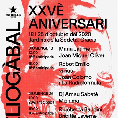25è aniversari Heliogàbal