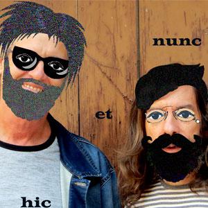 espectacle poètic 'Hic et nunc' amb Víctor Sunyol i Pere Norrès