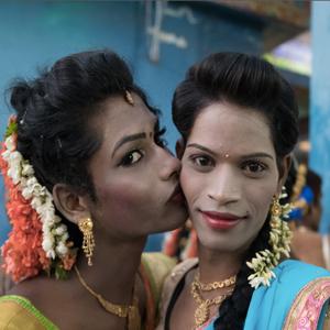 Exposició 'Hijras, les filles dels Kinnars' d'Anna Lofi