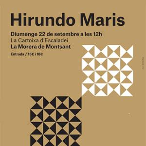 Hirundo Maris al Festival Terrer Priorat, 2019