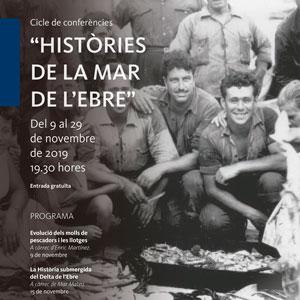 Cicle de conferències 'Històries de la Mar de l'Ebre' - La Ràpita 2019