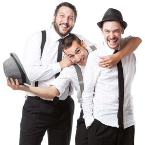 Hop's Trio, grup de bugui-bugui, ragtime i swing