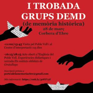 I Trobada de grups DEMD - Corbera d'Ebre 2020