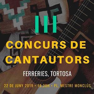 III Concurs de Cantautors - Tortosa 2019